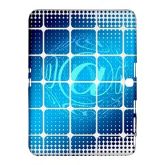 Tile Square Mail Email E Mail At Samsung Galaxy Tab 4 (10 1 ) Hardshell Case  by Nexatart