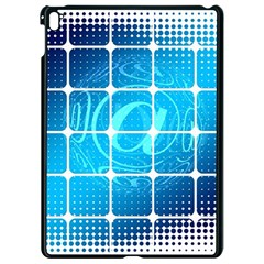 Tile Square Mail Email E Mail At Apple Ipad Pro 9 7   Black Seamless Case by Nexatart