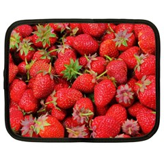 Strawberries Berries Fruit Netbook Case (xxl)