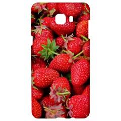 Strawberries Berries Fruit Samsung C9 Pro Hardshell Case  by Nexatart