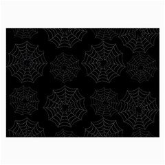Spider Web Large Glasses Cloth by Valentinaart
