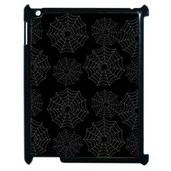 Spider Web Apple Ipad 2 Case (black) by Valentinaart