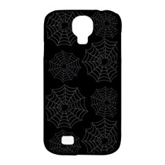 Spider Web Samsung Galaxy S4 Classic Hardshell Case (pc+silicone) by Valentinaart