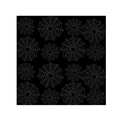 Spider Web Small Satin Scarf (square) by Valentinaart