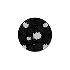 Spider Web And Ghosts Pattern Golf Ball Marker (10 Pack) by Valentinaart