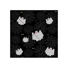 Spider Web And Ghosts Pattern Acrylic Tangram Puzzle (4  X 4 ) by Valentinaart