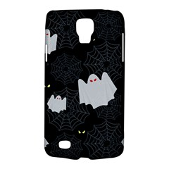 Spider Web And Ghosts Pattern Galaxy S4 Active by Valentinaart