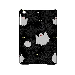 Spider Web And Ghosts Pattern Ipad Mini 2 Hardshell Cases by Valentinaart