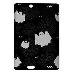 Spider Web And Ghosts Pattern Amazon Kindle Fire Hd (2013) Hardshell Case by Valentinaart