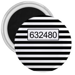 Prison  3  Magnets by Valentinaart