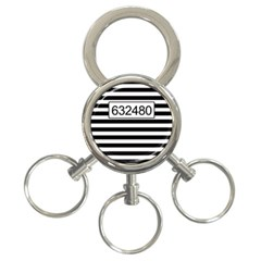 Prison  3 Ring Key Chains by Valentinaart