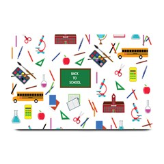 Back To School Plate Mats by Valentinaart