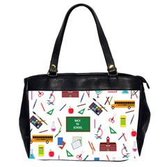 Back To School Office Handbags (2 Sides)  by Valentinaart