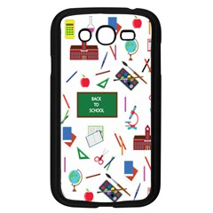 Back To School Samsung Galaxy Grand Duos I9082 Case (black) by Valentinaart