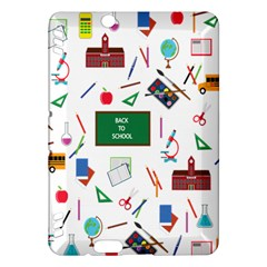 Back To School Kindle Fire Hdx Hardshell Case by Valentinaart