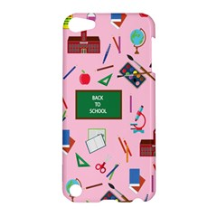 Back To School Apple Ipod Touch 5 Hardshell Case by Valentinaart