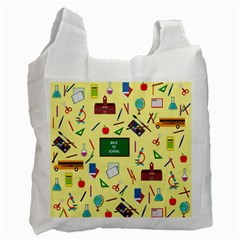Back To School Recycle Bag (two Side)  by Valentinaart