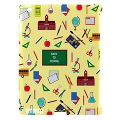 Back To School Apple Ipad 3/4 Hardshell Case (compatible With Smart Cover) by Valentinaart