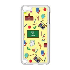 Back To School Apple Ipod Touch 5 Case (white) by Valentinaart