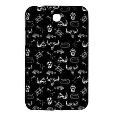 Skeleton Pattern Samsung Galaxy Tab 3 (7 ) P3200 Hardshell Case  by Valentinaart