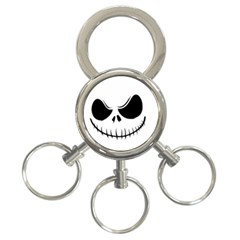Halloween 3 Ring Key Chains by Valentinaart