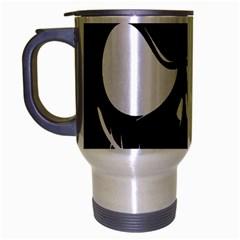 Halloween Travel Mug (silver Gray) by Valentinaart