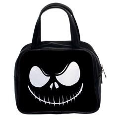 Halloween Classic Handbags (2 Sides) by Valentinaart