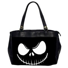Halloween Office Handbags (2 Sides)  by Valentinaart