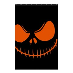 Halloween Shower Curtain 48  X 72  (small)  by Valentinaart