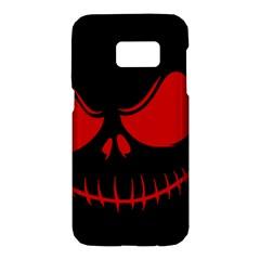 Halloween Samsung Galaxy S7 Hardshell Case  by Valentinaart