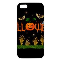 Halloween Iphone 5s/ Se Premium Hardshell Case by Valentinaart
