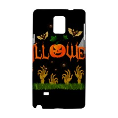 Halloween Samsung Galaxy Note 4 Hardshell Case by Valentinaart