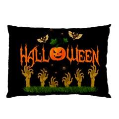 Halloween Pillow Case by Valentinaart