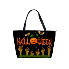 Halloween Shoulder Handbags by Valentinaart