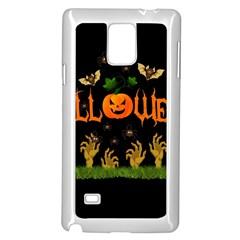 Halloween Samsung Galaxy Note 4 Case (white) by Valentinaart