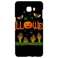 Halloween Samsung C9 Pro Hardshell Case  by Valentinaart