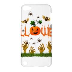 Halloween Apple Ipod Touch 5 Hardshell Case by Valentinaart