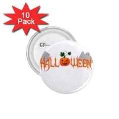 Halloween 1 75  Buttons (10 Pack) by Valentinaart