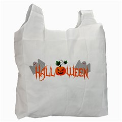 Halloween Recycle Bag (one Side) by Valentinaart