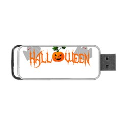 Halloween Portable Usb Flash (one Side) by Valentinaart