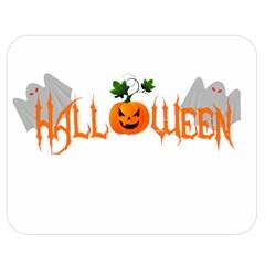Halloween Double Sided Flano Blanket (medium)  by Valentinaart
