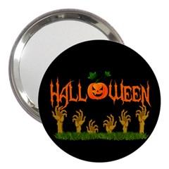 Halloween 3  Handbag Mirrors by Valentinaart