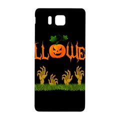 Halloween Samsung Galaxy Alpha Hardshell Back Case by Valentinaart