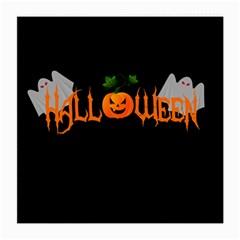 Halloween Medium Glasses Cloth by Valentinaart