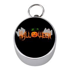 Halloween Mini Silver Compasses by Valentinaart