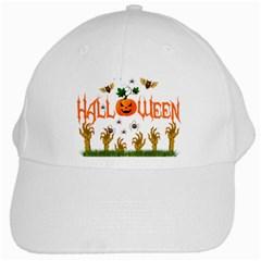 Halloween White Cap by Valentinaart