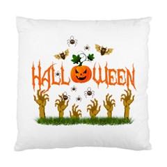 Halloween Standard Cushion Case (one Side) by Valentinaart