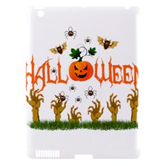 Halloween Apple Ipad 3/4 Hardshell Case (compatible With Smart Cover) by Valentinaart