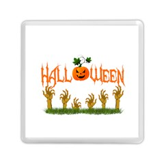 Halloween Memory Card Reader (square)  by Valentinaart