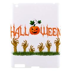 Halloween Apple Ipad 3/4 Hardshell Case by Valentinaart
